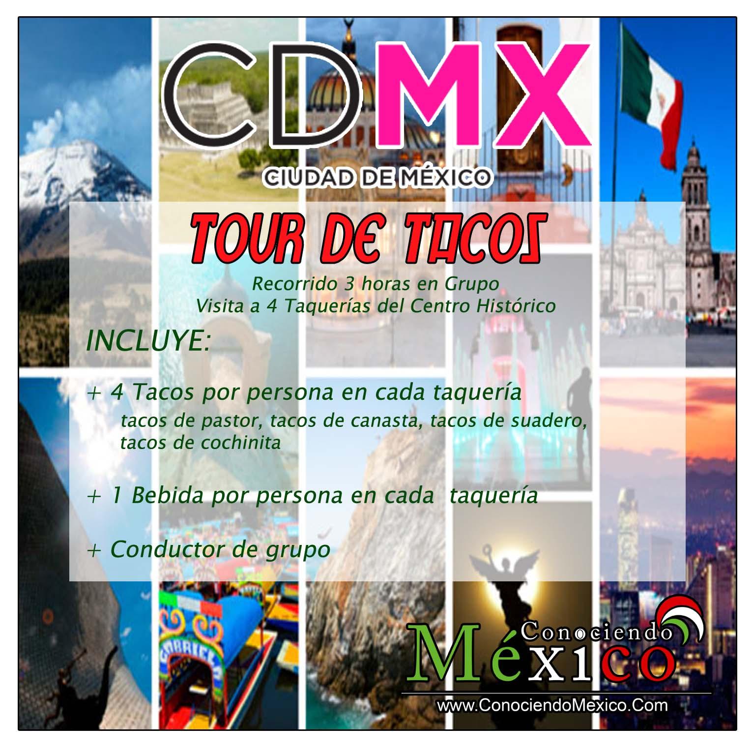 Tour de Tacos en CDMX