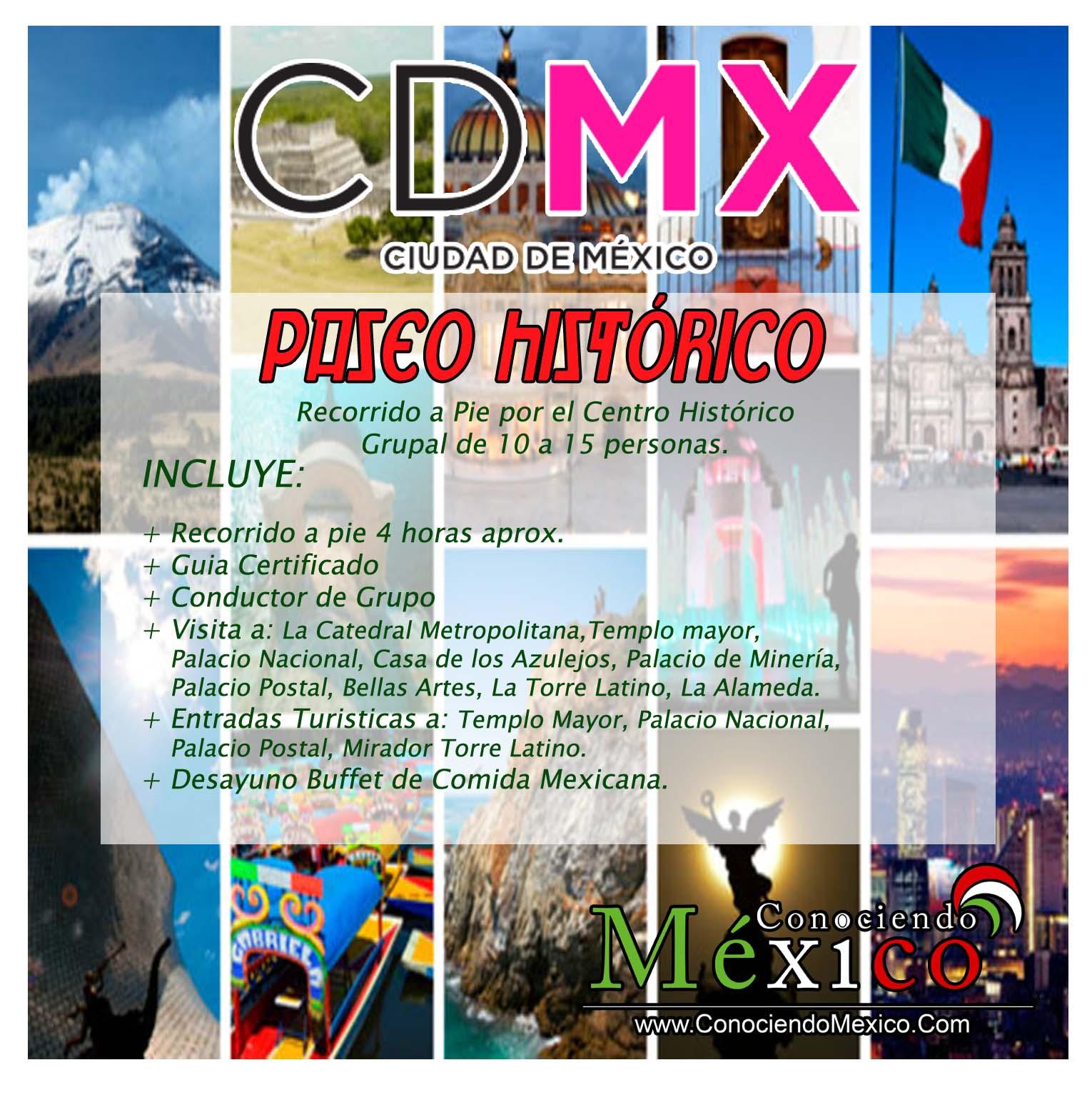 Paseo Histórico (Centro Histórico CDMX)